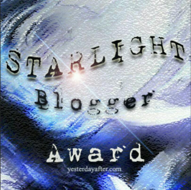 Starblogger award!